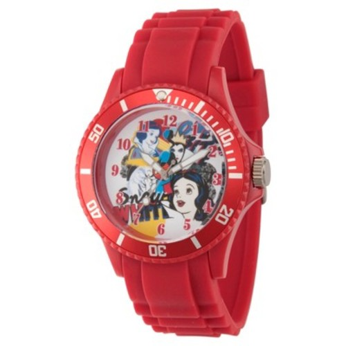 Women's Disney Princess Snow White and Queen Red Plastic Watch - Red