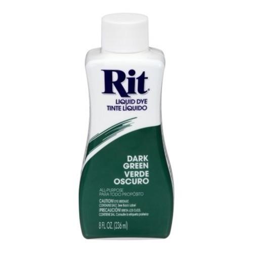 Rit Liquid Dye, Dark Green 35 8 fl oz (236 ml)
