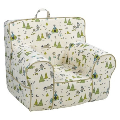 Kangaroo Classic Grab-n-Go Foam Chair with Handle - Cowboy & Friends