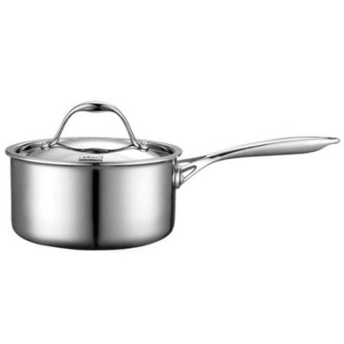 Cooks Standard 1.5 Qt Multi-Ply Clad Stainless Steel Sauce Pan