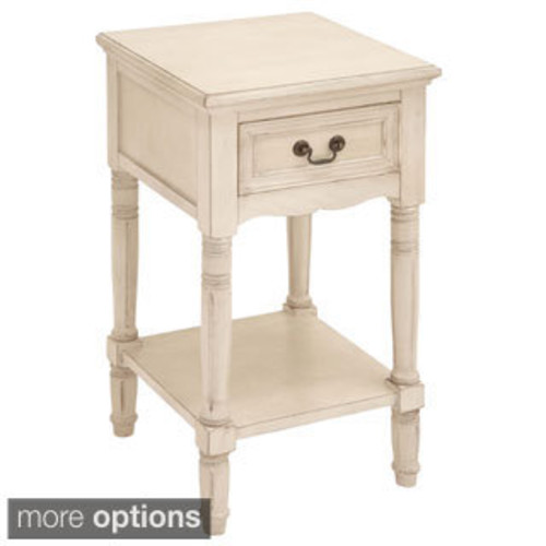 Notting Hilll Night Stand 1 Drawer 4 Legs [option : Notting Hilll Night Stand 1Dr 4 Legs Bright White]