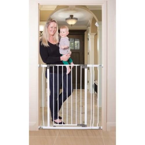Dreambaby 36.5 in. H Liberty Extra Tall Auto-Close Security Gate with 3.5 in. Extension