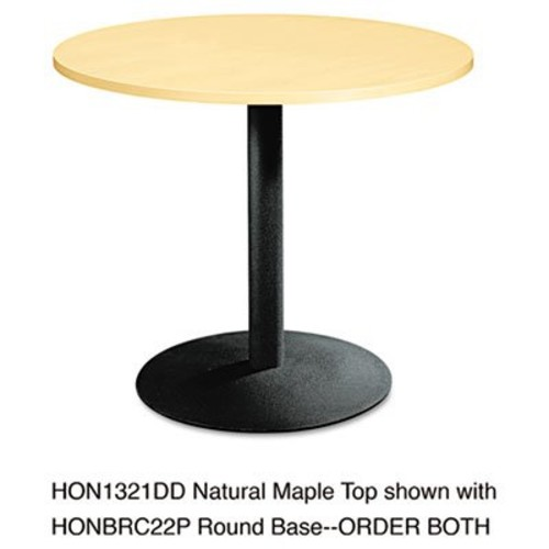 HON Hospitality Table Base, Black [Black, 22