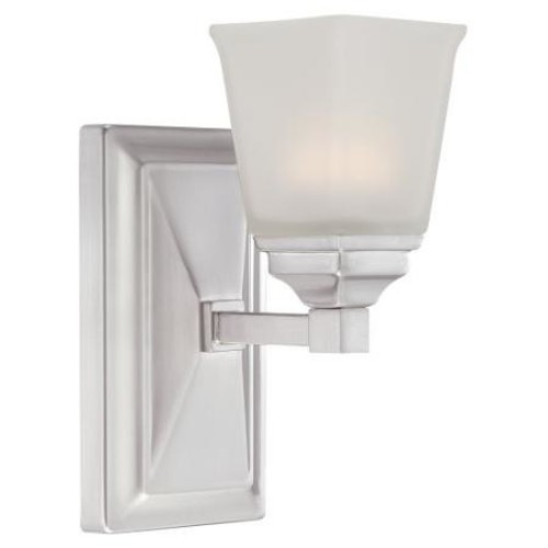 Designers Fountain LED67801-SP Trenton LED Wall Sconce - 4.5W in. - Satin Platinum