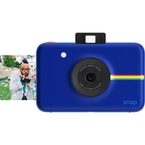 Polaroid - Snap 10.0-Megapixel Digital Camera - Navy Blue
