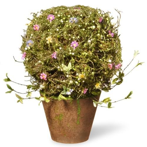 National Tree Company Topiary with Pot (16
