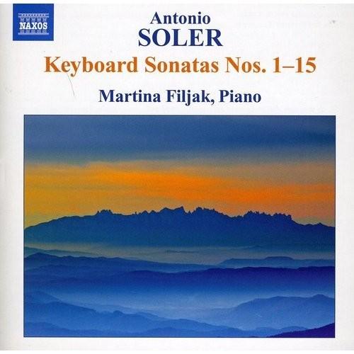 Antonio Soler: Keyboard Sonatas Nos. 1-15 [CD]