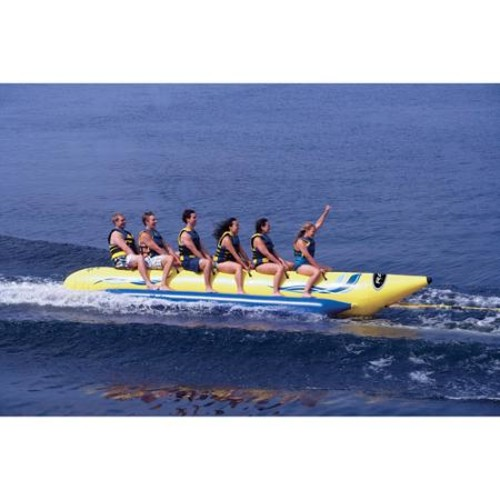 Rave Sports Waterboggan 6-Person Towable Tube
