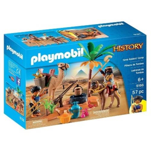 Playmobil Tomb Raiders' Camp playset
