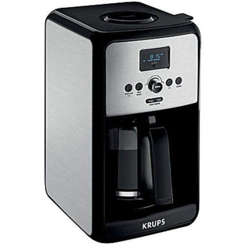 Krups Savoy Stainless Steel 12-Cup Coffee Maker EC314050