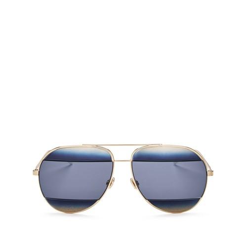 DIOR Split Aviator Sunglasses, 59Mm