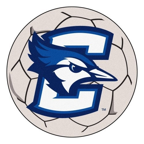 Creighton Soccer Ball Rug