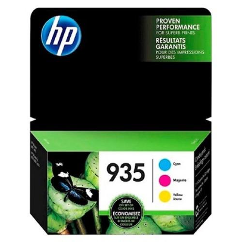 HP 935 CMY Ink Cartridge Combo 3-Pack - Multicolored (N9H65FN#140)