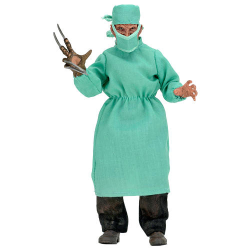 NECA Nightmare on Elm Street Part 4 The Dream Master 8 inch Clothed Figure - Surgeon Freddy