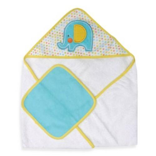 Neat Solutions Elephant Hooded Towel & Washcloth Set
