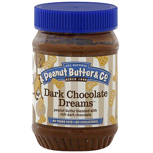 Peanut Butter & Co. Non-GMO, Gluten Free, Vegan Peanut Butter, Dark Chocolate Dreams, 16 Ounce Jars (Pack of 6)