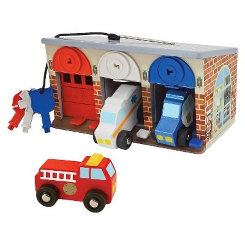 Melissa and Doug 'Lock & Roll Rescue Garage' Play Set
