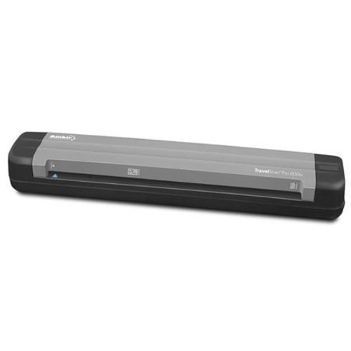 Ambir TravelScan Pro PS600ix Simplex Document and Card Scanner with AmbirScan PS600IX-AS