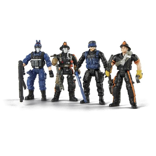 True Heroes Action Figures - Tactical