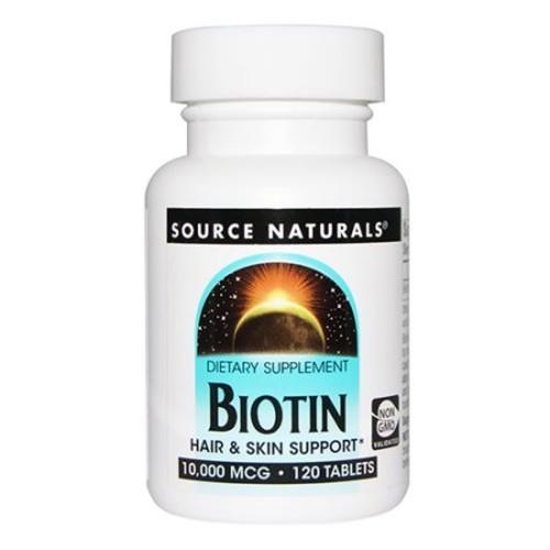Source naturals Biotin 10,000 mcg, 120 tablet