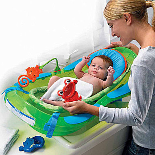 Fisher-Price Rainforest Baby Bath Tub