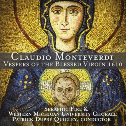 Monteverdi:vespers Of The Blessed Vir CD (2013)