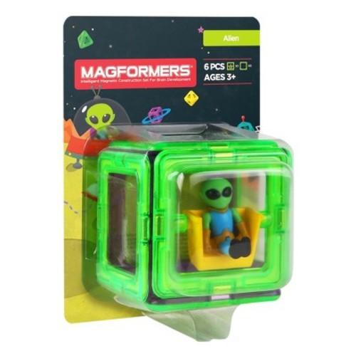 Magformers Figure Plus Alien Set - 6pc