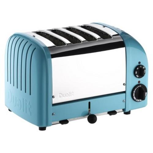 Dualit New Generation 4 Slice Azure Blue Toaster [Azure Blue, 4-Slice]
