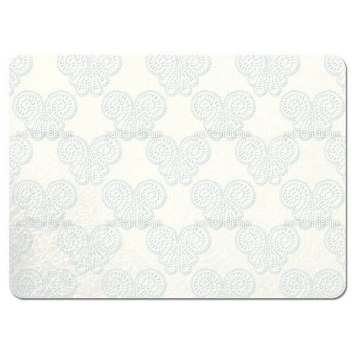 Sheer Lace Butterflies Placemats (Set of 4)