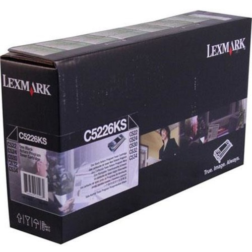 Lexmark C5226KS Black Toner Cartridge C5226KS