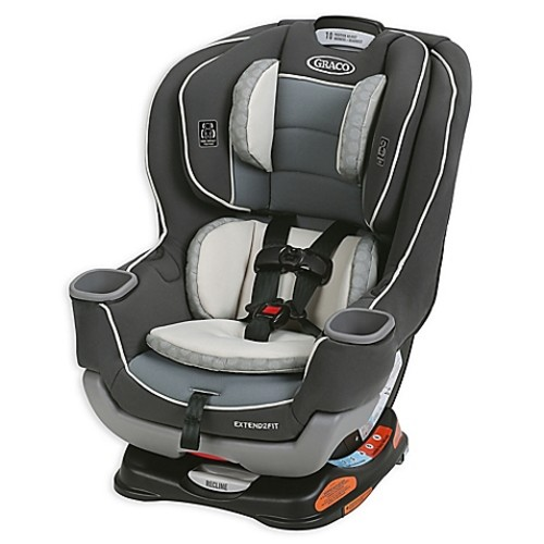 Graco Extend2Fit Convertible Car Seat in Davis