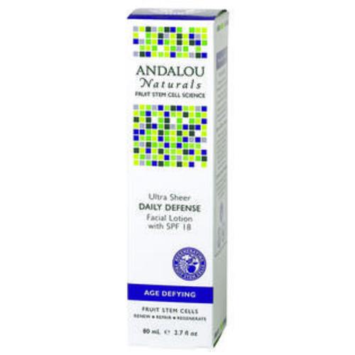 Andalou Naturals Daily Defense SPF 18 Facial Lotion