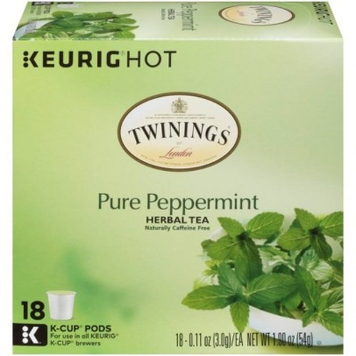 Twinings Pure Peppermint Herbal Tea K-Cup Pods - 18ct