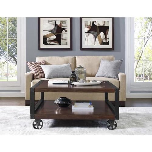 Altra Wade Wood Veneer Coffee Table