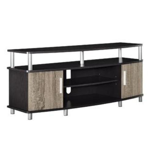 Ameriwood Home Carson 50-inch Espresso/ Sonoma Oak TV Stand