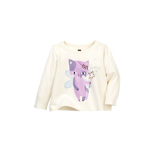 Cat Fairy Graphic Tee (Baby Girls)