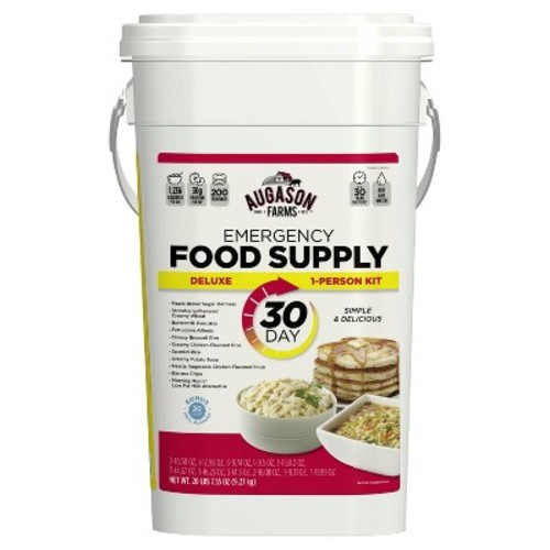 Augason Farms Deluxe Emergency 30-Day 1-Person Food Supply Kit