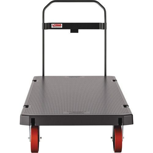 Suncast Heavy-Duty Resin Platform Truck  2,000lb. Capacity, 30in.W x 60in.L, Model# PDPTHD3060