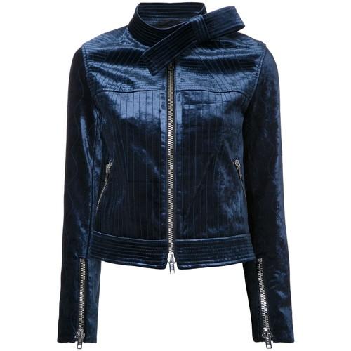 3.1 PHILLIP LIM Velvet Moto Jacket