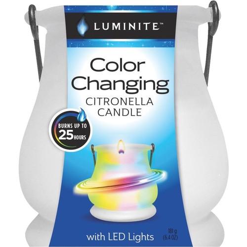 Luminite Color Changing Citronella Candle - LMLN