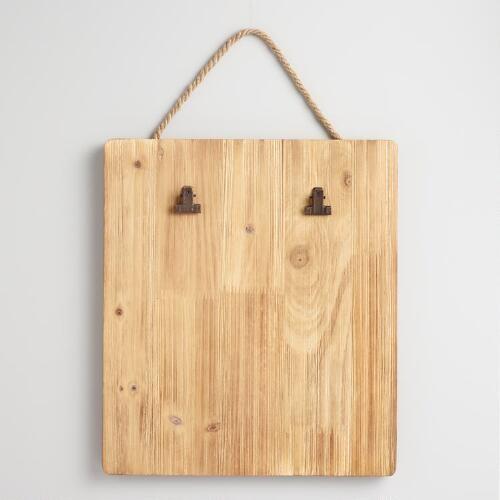 Wood Clipboard Card Holder Wall Decor
