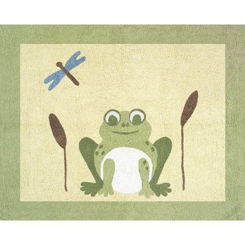 Sweet Jojo Designs Leap Frog Collection Floor Rug