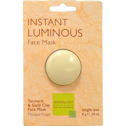 Andalou Naturals Instant Luminous Face Mask -- 0.28 oz