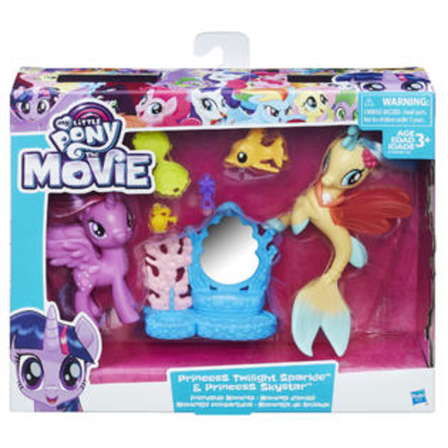 My Little Pony,Hasbro My Little Pony The Movie Princess Twilight Sparkle and Princess Skystar Friendsh