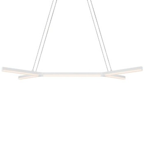 Bi-Y LED Pendant Light [Finish : Satin White]