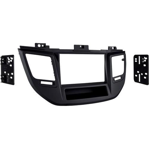 Metra - Dash Kit for Select 2016 Hyundai Tucson Vehicles - Matte black
