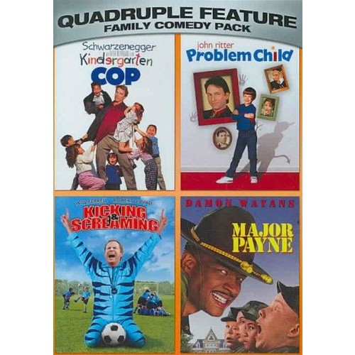 Family Comedy Pack Quadruple Feature (DVD)