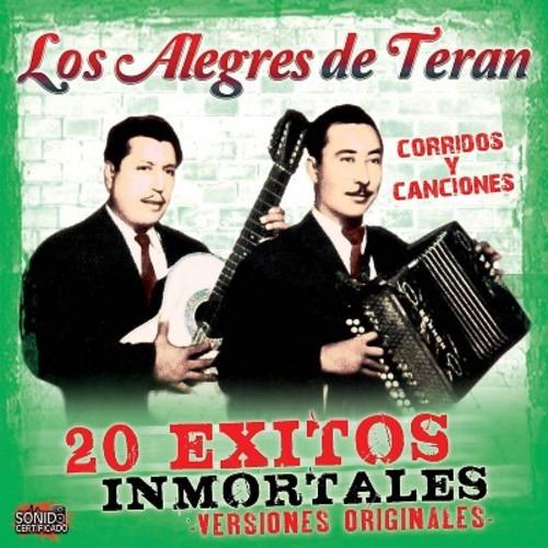 Los Alegres De Teran - 20 Exitos Inmortales