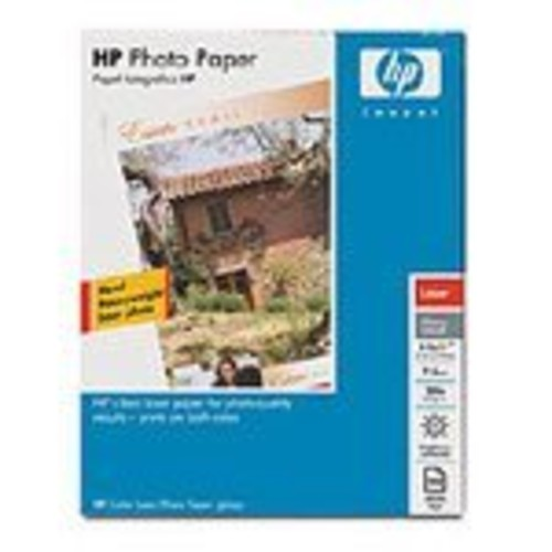 HP color laser photo paper 8.5x11 glossy 58lb 100-sheet