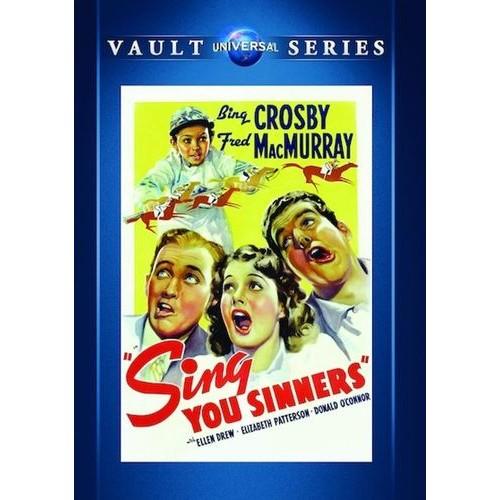 Sing You Sinners [DVD] [1938]